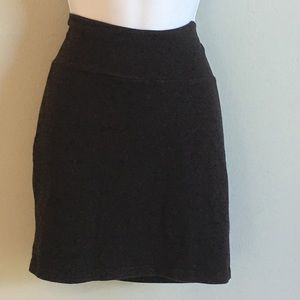 Charlotte Russe Black Mini Skirt
